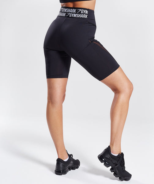 Gymshark Elevate Cycling Shorts - Black 1