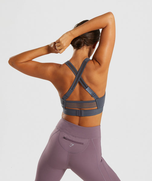 Gymshark Endurance Sports Bra - Charcoal 1