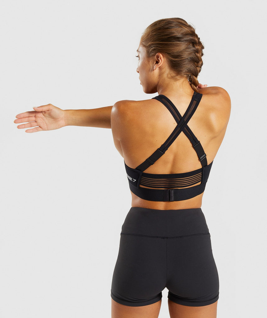 Gymshark Endurance Sports Bra - Black 2