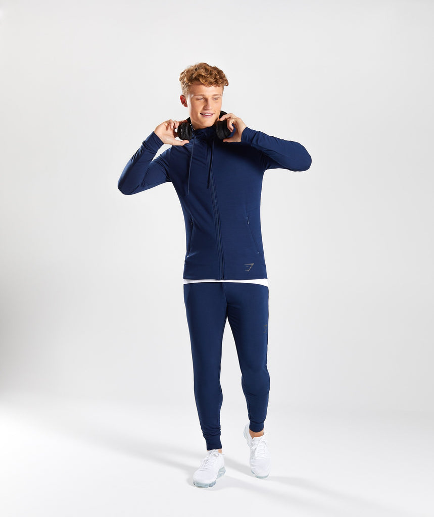 Gymshark Enlighten Zip Hoodie  - Sapphire Blue 5