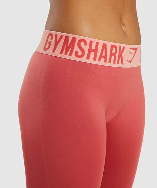 Gymshark Fit Leggings - Orange 3