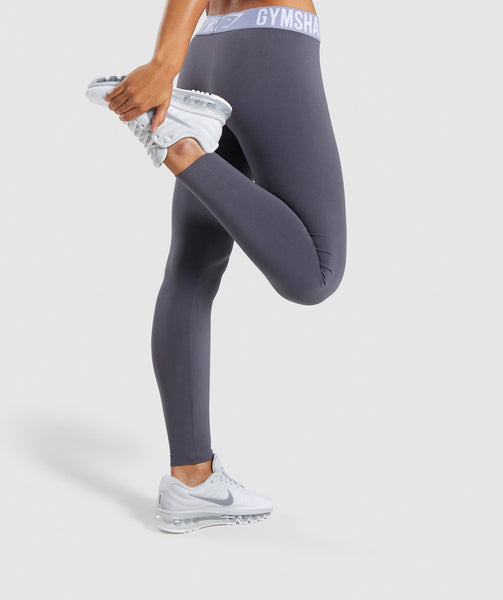 Gymshark Fit Leggings - Grey 2