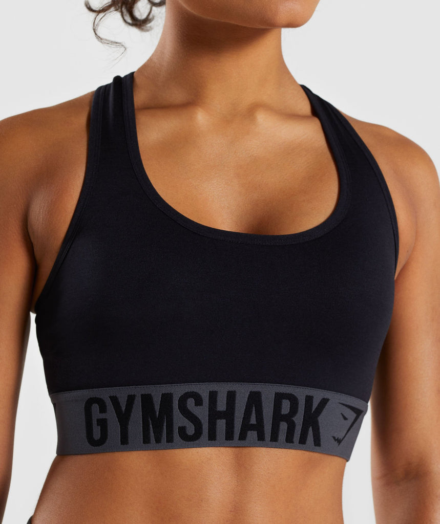 Gymshark Fit Sports Bra - Black 5