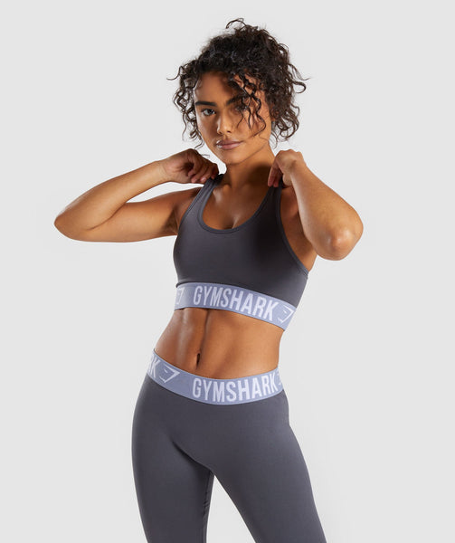 Gymshark Fit Sports Bra - Grey 2