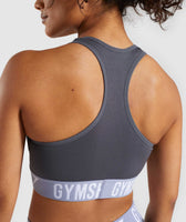 Gymshark Fit Sports Bra - Grey 12