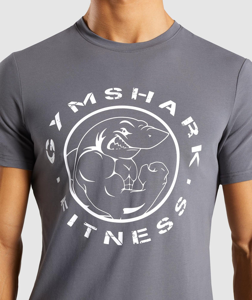 Gymshark Legacy T-Shirt - Smokey Grey 5