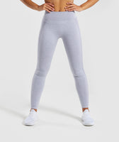 Gymshark Flex High Waisted Leggings - Blue/Grey 8