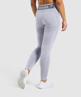 Gymshark Flex High Waisted Leggings - Blue/Grey 7