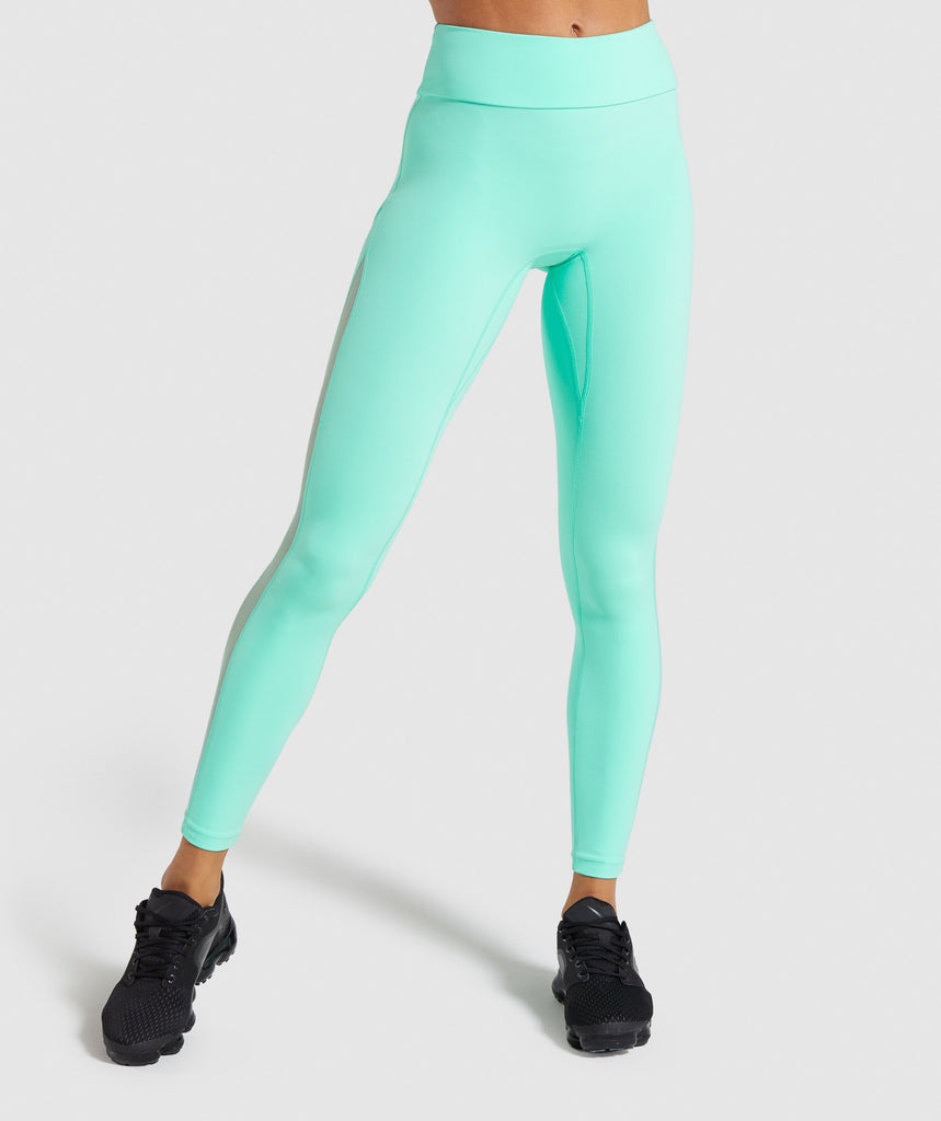 Gymshark Form Leggings - Mint 1