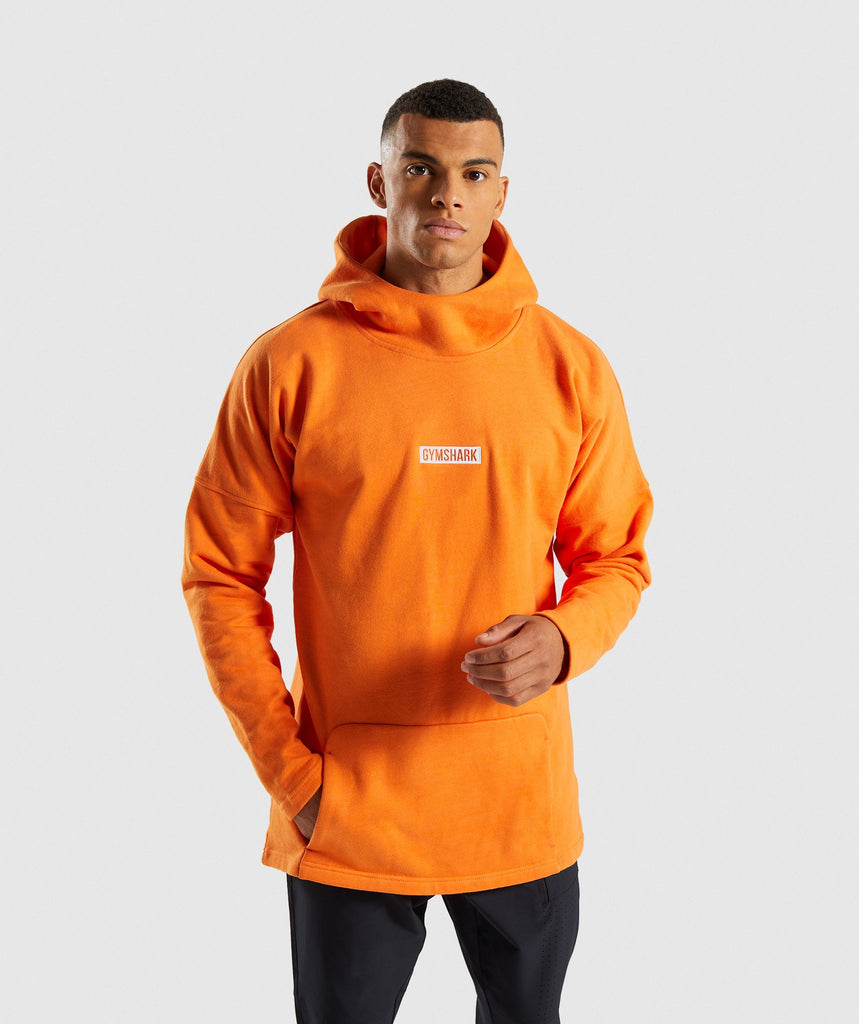 Gymshark Fresh Pullover - Sunset Orange 1
