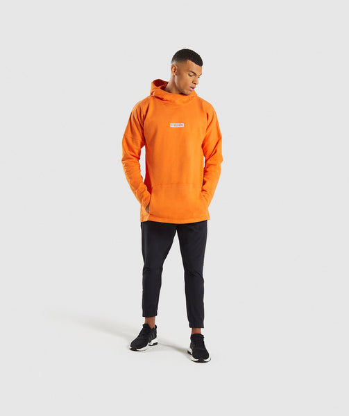 Gymshark Fresh Pullover - Sunset Orange 3