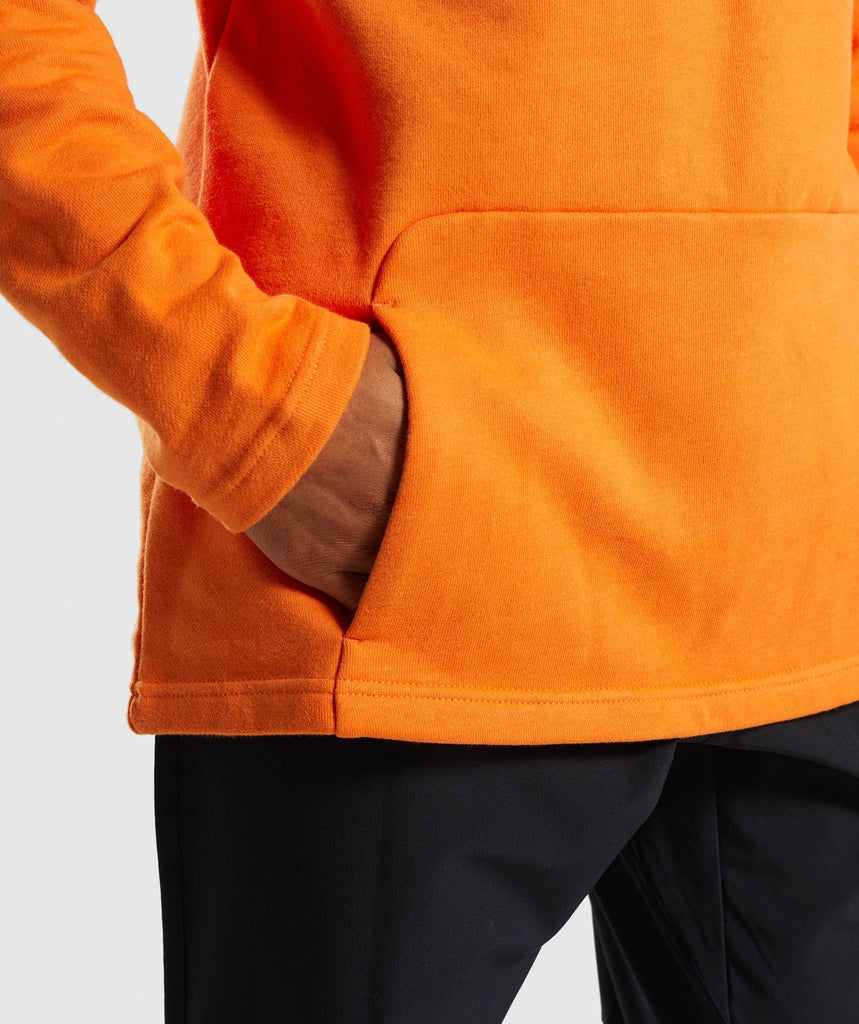 Gymshark Fresh Pullover - Sunset Orange 6