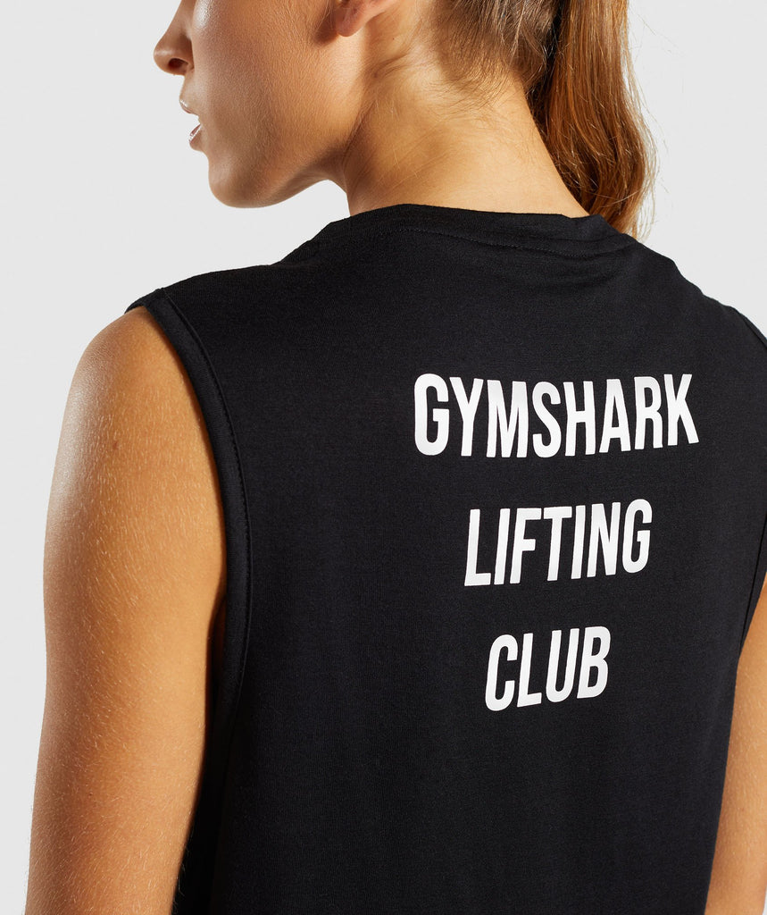 Gymshark Lifting Club Tank Spanish - Black 5