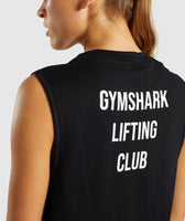Gymshark Lifting Club Tank Spanish - Black 11