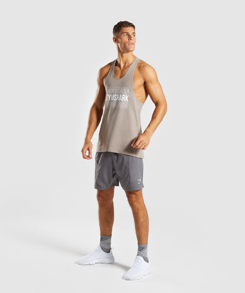 Gymshark Haze Stringer - Driftwood Brown 3