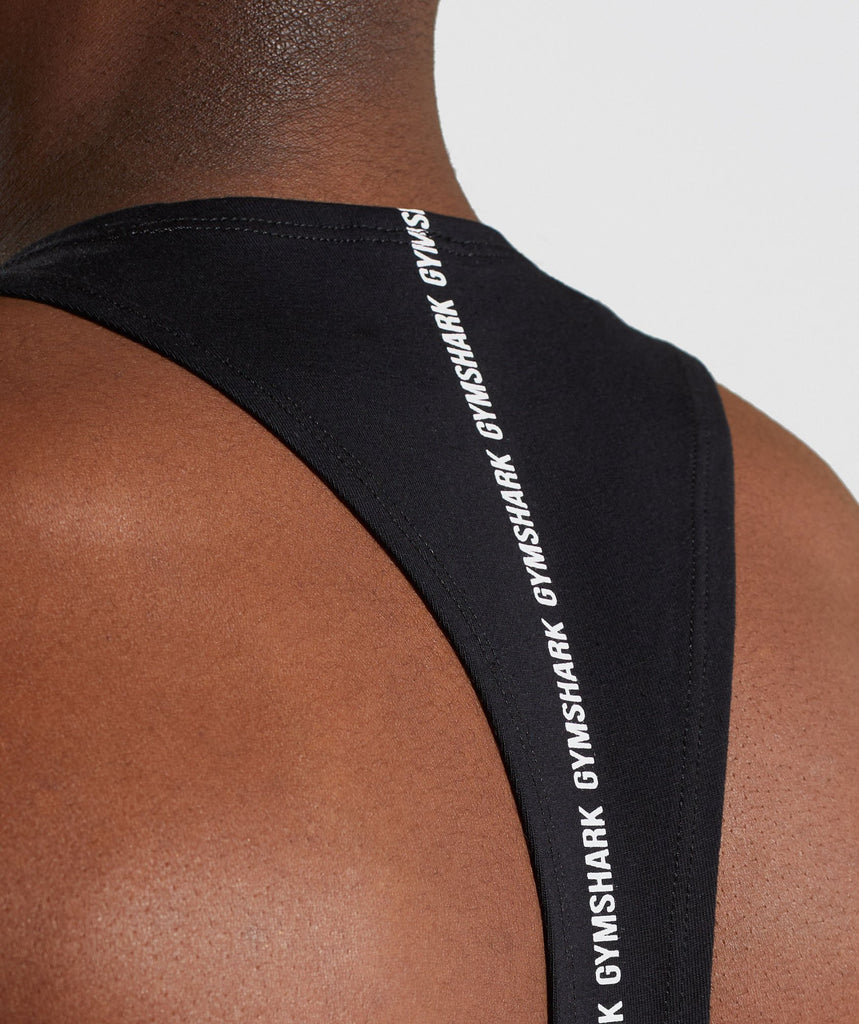 Gymshark Linear Stringer - Black 5