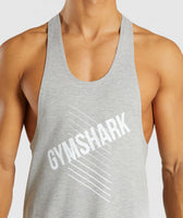 Gymshark Score Stringer - Light Grey Marl 11