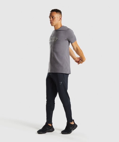Gymshark Etch T-Shirt - Smokey Grey 3