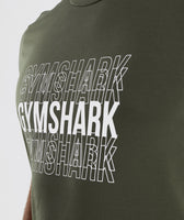 Gymshark Haze T-Shirt - Woodland Green 11