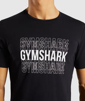 Gymshark Haze T-Shirt - Black 11