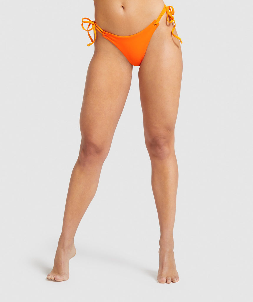 Gymshark Horizon Lifestyle Bikini Bottom - Orange 1