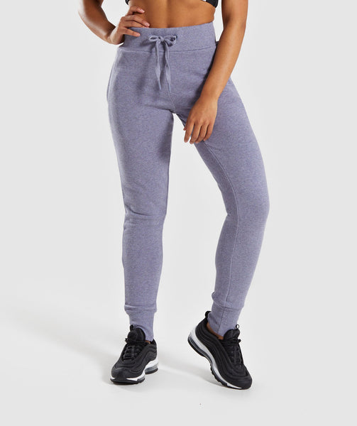 Gymshark High Waisted Joggers - Steel Blue 4