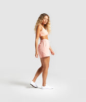 Gymshark Horizon Graphic Shorts - Peach 9