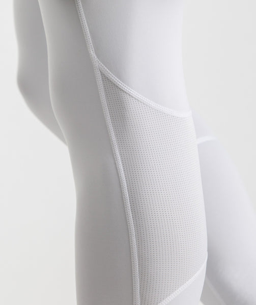 Gymshark Element Baselayer Leggings - White 3
