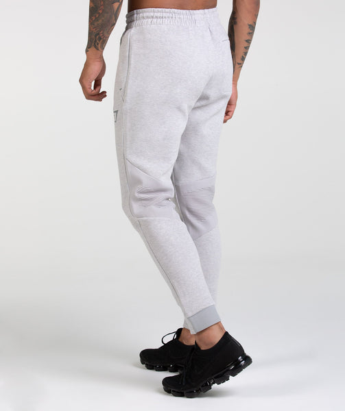 Gymshark Ozone Bottoms - Light Grey Marl 1