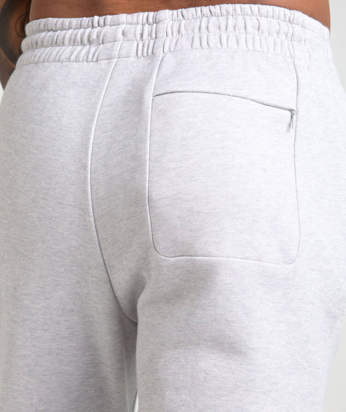 Gymshark Ozone Bottoms - Light Grey Marl 3