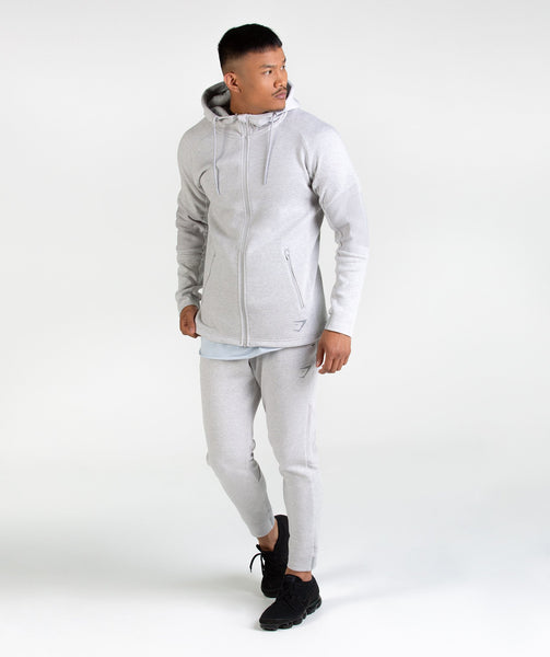 Gymshark Ozone Bottoms - Light Grey Marl 4