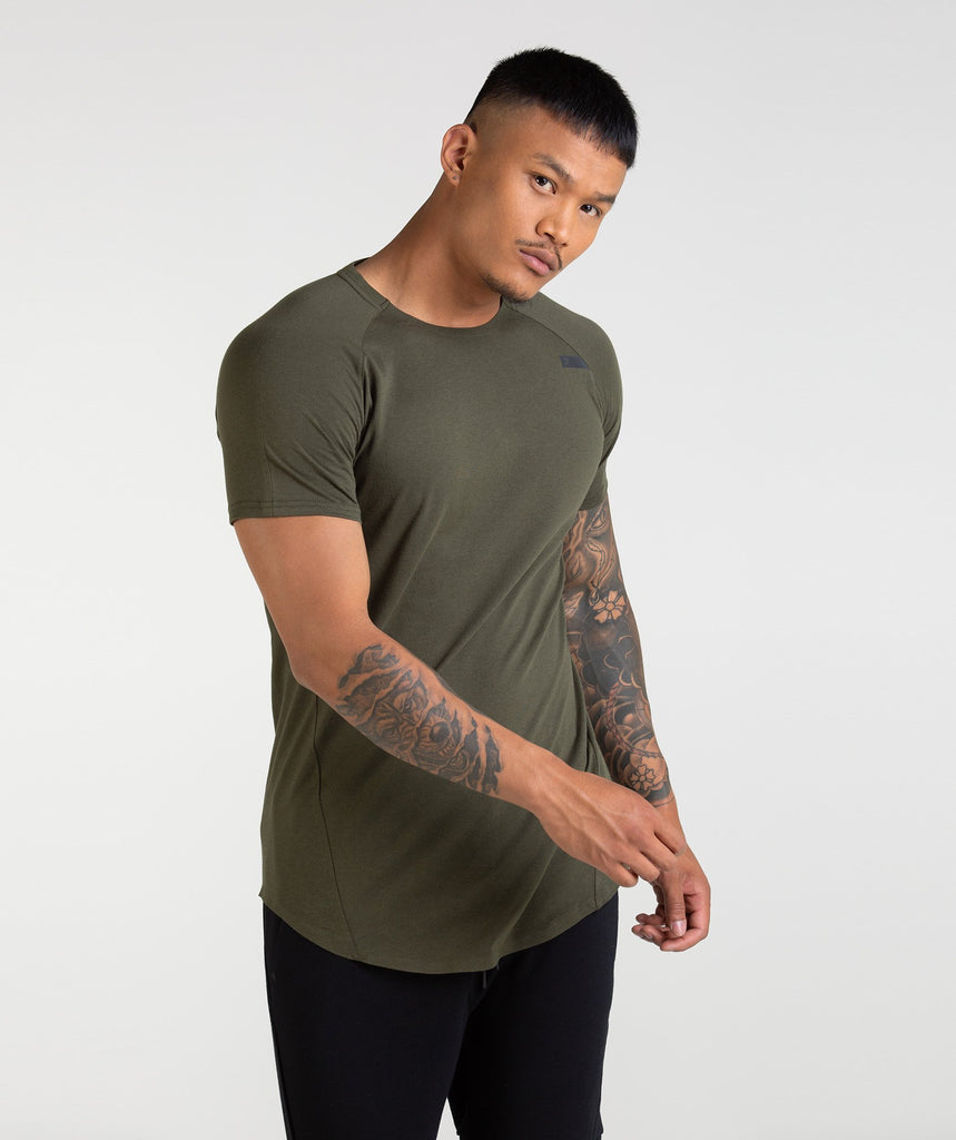 Gymshark Construction T-Shirt - Alpine Green 1