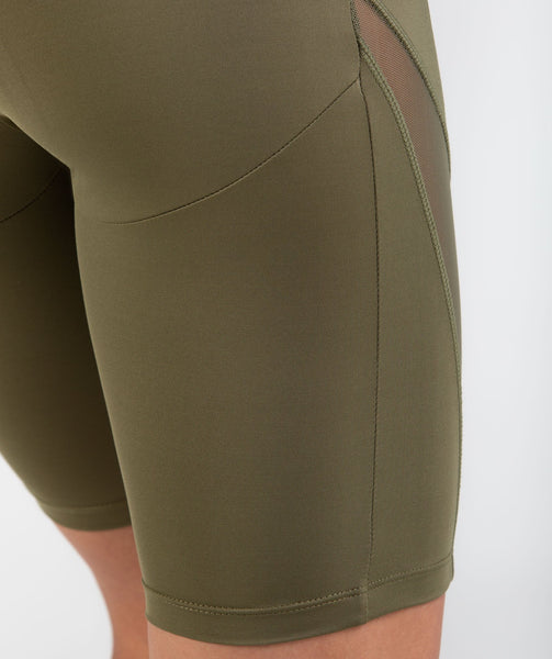 Gymshark Elevate Cycling Shorts - Khaki 3