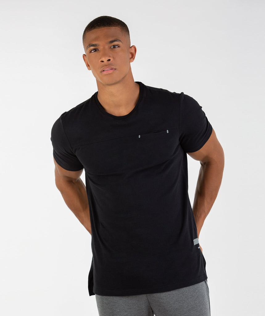 Gymshark City T-Shirt - Black 1