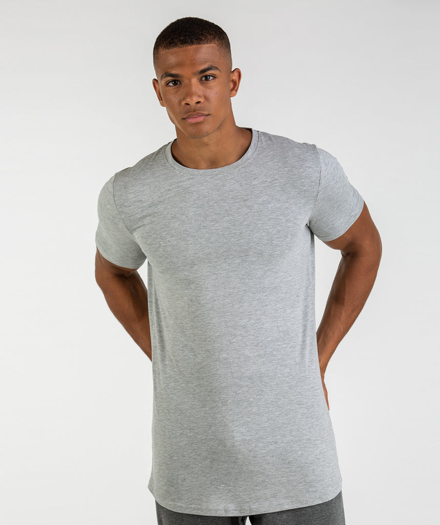 Gymshark Living T-Shirt - Light Grey Marl 2
