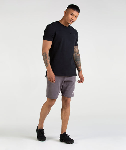 Gymshark Take Over Shorts - Slate Lavender Marl 2