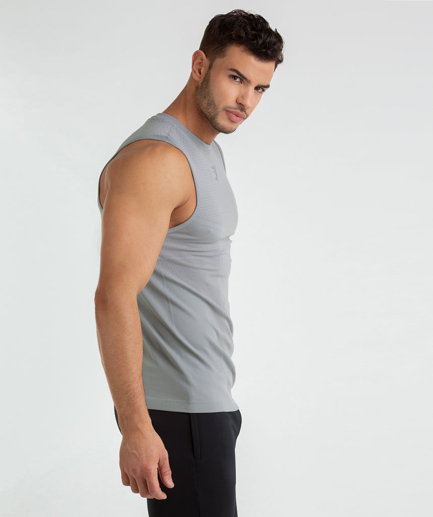 Gymshark Onyx Imperial Tank - Light Grey 4