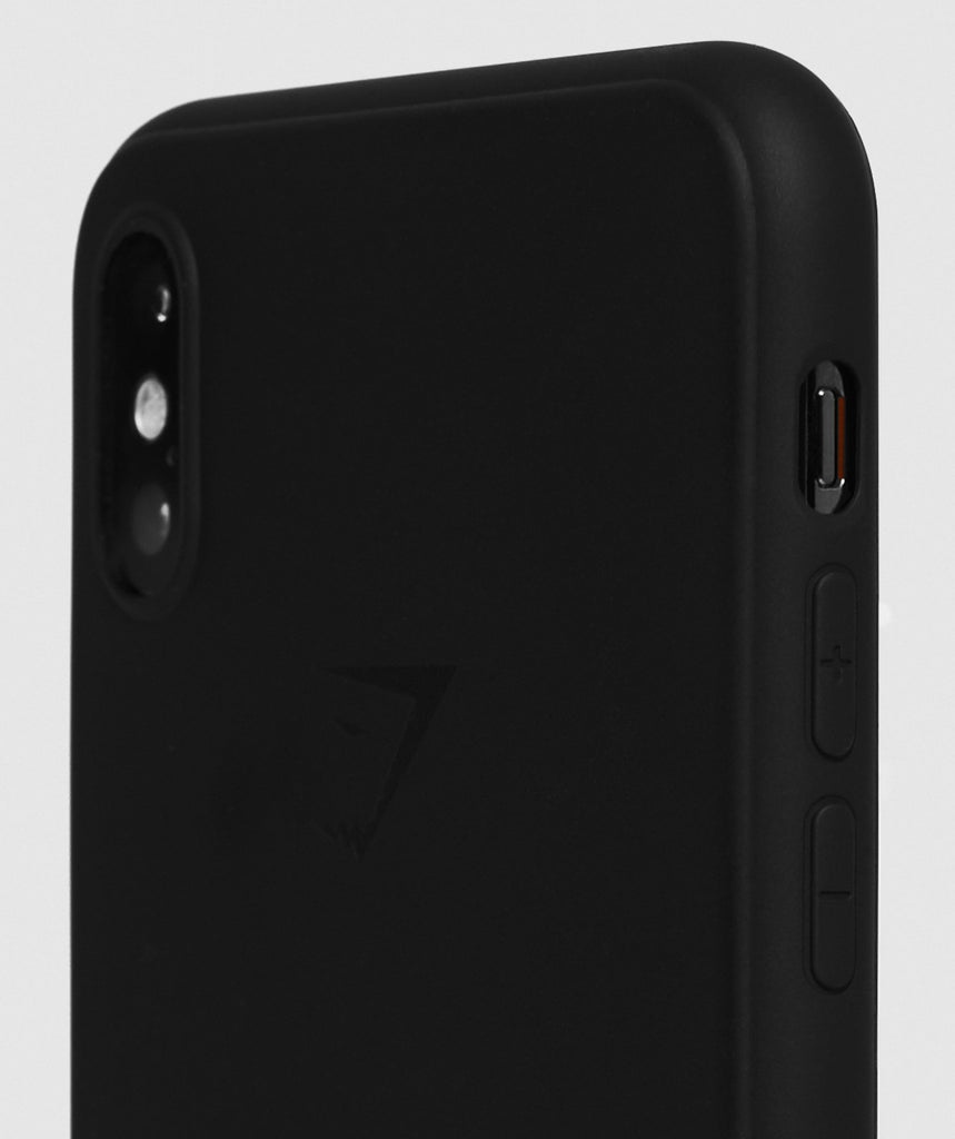 detailed look 9e589 ee0ce Gymshark iPhone XS Max Case - Black
