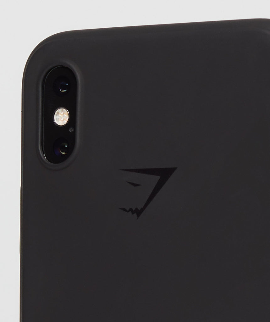 Gymshark iPhone X Case - Black 2