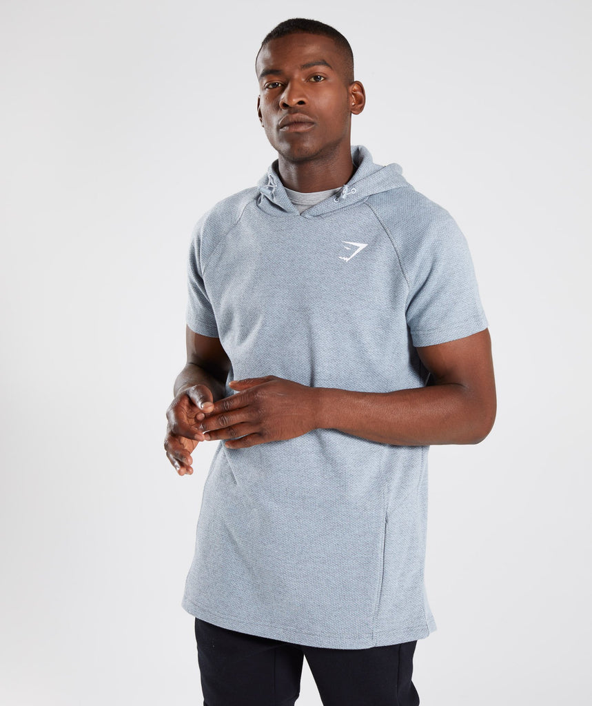Gymshark Jacquard Pullover - Clear Water Marl 1