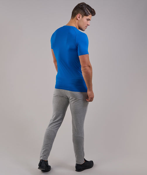 Gymshark Form T-Shirt - Dive Blue 1