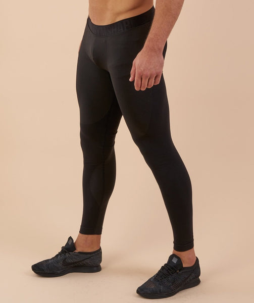 Gymshark Flex Leggings - Black Marl 3