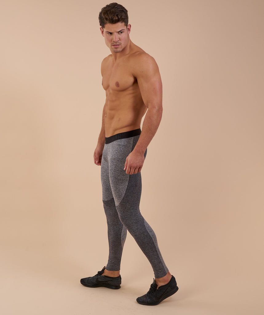 Gymshark Flex Leggings - Charcoal Marl 2