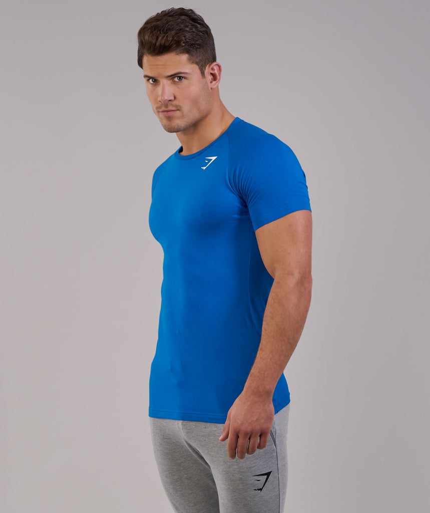 Gymshark Form T-Shirt - Dive Blue 5