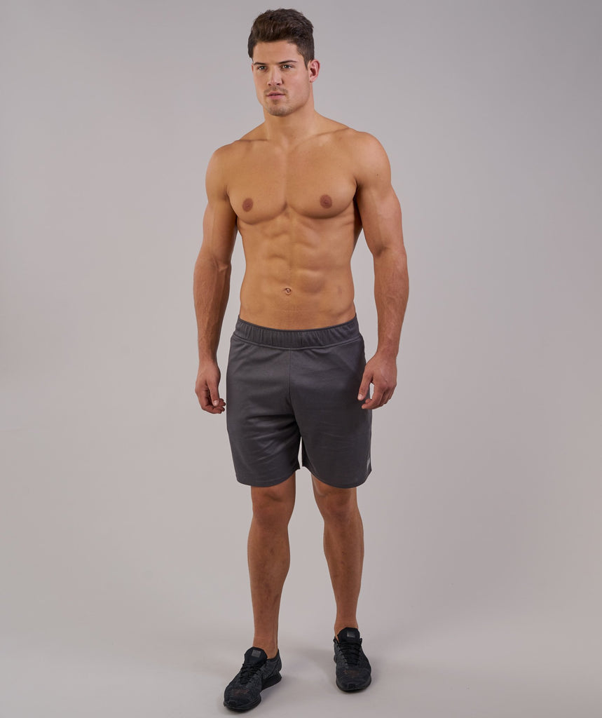 Gymshark Free Flow Shorts - Charcoal