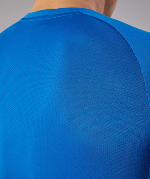Gymshark Form T-Shirt - Dive Blue 4