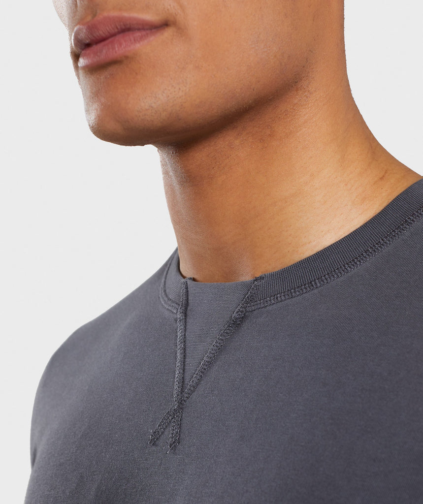 Gymshark Laundered T-Shirt - Charcoal 5