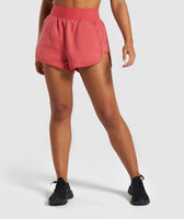 Gymshark Legacy Fitness Shorts - Brick Red 7