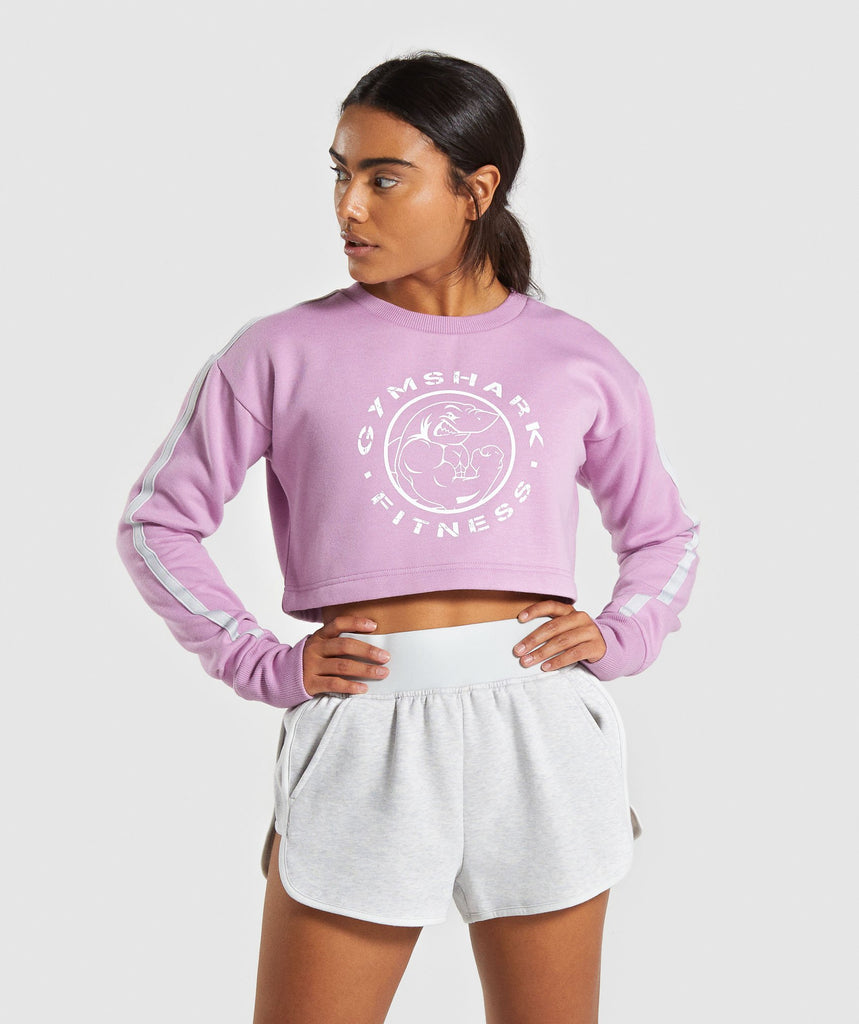 Gymshark Legacy Fitness Sweater - Pink 1