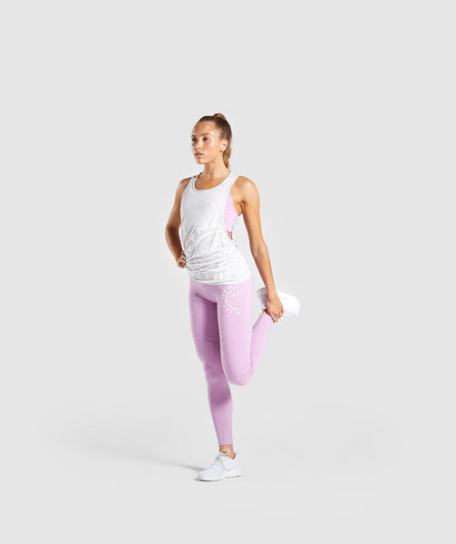 Gymshark Legacy Fitness Panel Leggings - Pink 3